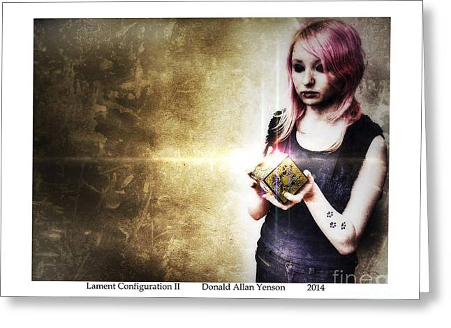 Pinhead Greeting Cards - Lament Configuration II Greeting Card by Donald Yenson