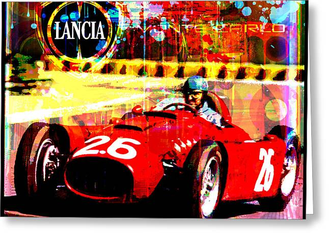 Decorative Greeting Cards - Lancia Greeting Card by Gary Grayson