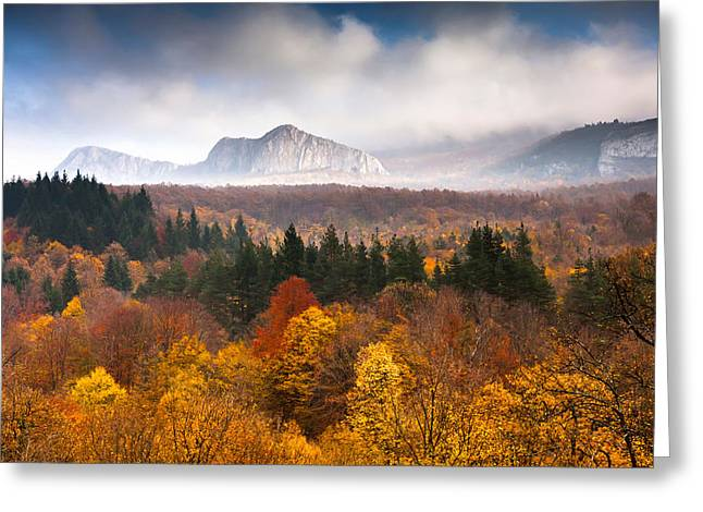 Balkan Greeting Cards - Land Of Illusion Greeting Card by Evgeni Dinev
