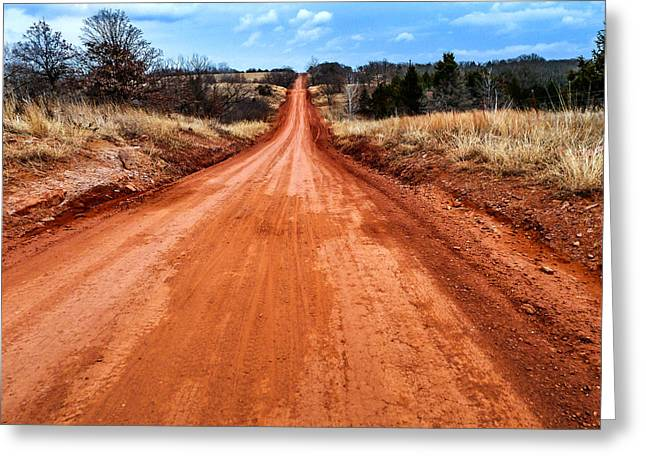 Red Dirt Greeting Cards - Land Run 100 Greeting Card by Eric Benjamin