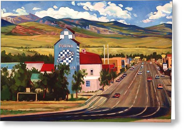 Scenic Drive Greeting Cards - Lander 2000 Greeting Card by Art James West