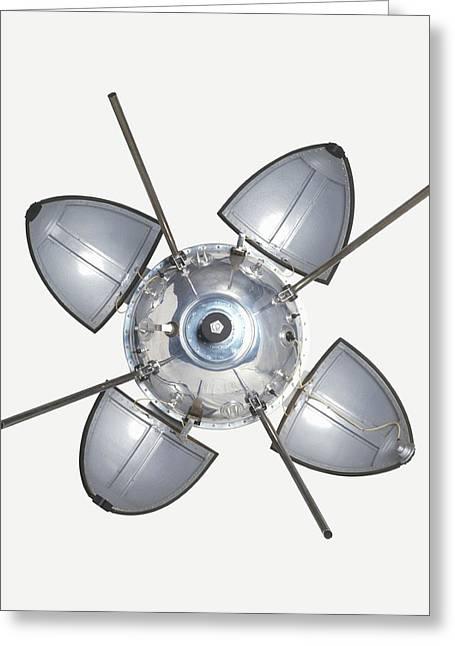 Landing Capsule Of Soviet Luna 9 Greeting Card by Dorling Kindersley/uig