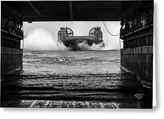 Germantown Greeting Cards - Landing Craft Greeting Card by Mountain Dreams