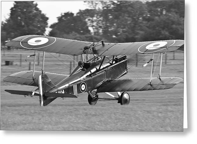 Landing Se5a Greeting Card by Ian Collins