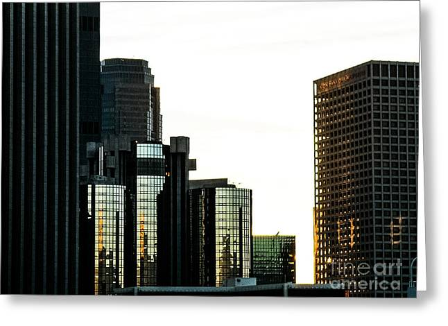 City Art Greeting Cards - Landscape a90z Los Angeles Greeting Card by  Otri  park
