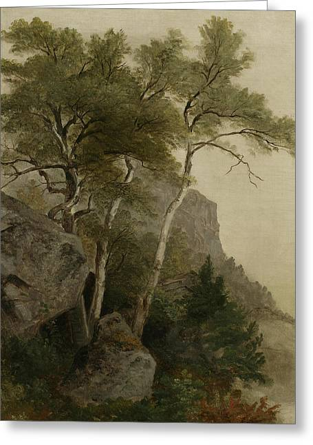 Landscape Greeting Card by Asher Brown Durand