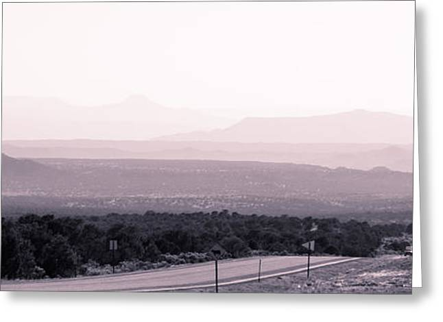 Earthship Greeting Cards - Landscape b10h Taos NM Greeting Card by  Otri  park
