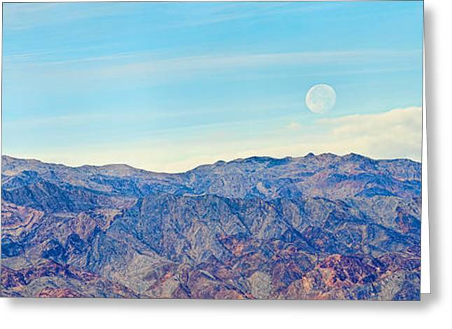 Mountain Valley Greeting Cards - Landscape, Death Valley, Death Valley Greeting Card by Panoramic Images
