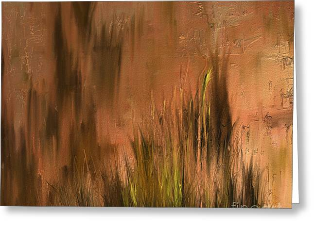 Shesh Tantry Greeting Cards - Landscape no. 225 Greeting Card by Shesh Tantry