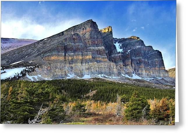 Montana Landscapes Photographs Greeting Cards - Landscape of Layers Greeting Card by Gary Yost