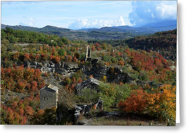 Aragon Greeting Cards - Landscape of Montanana Greeting Card by RicardMN Photography