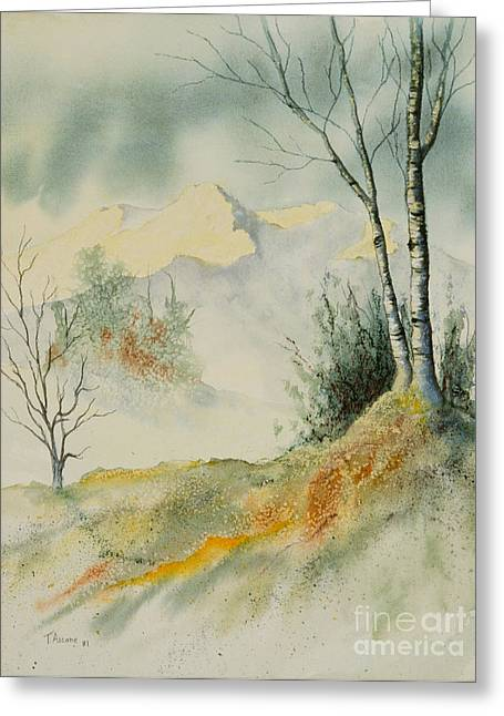 Pacific Pastels Greeting Cards - Landscape Greeting Card by Teresa Ascone