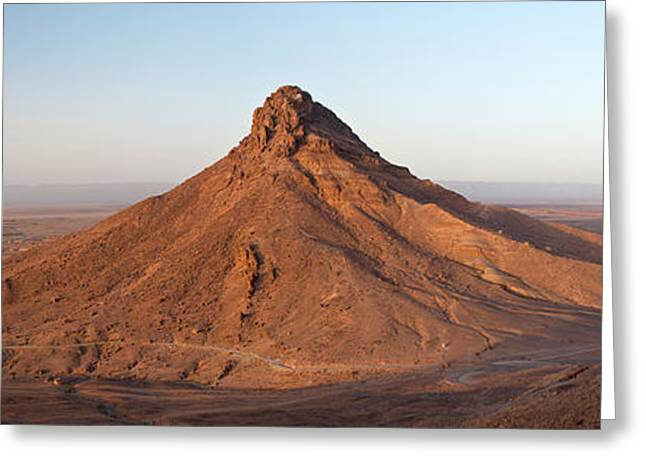 Mound Greeting Cards - Landscape, Zagora, Morocco Greeting Card by Panoramic Images