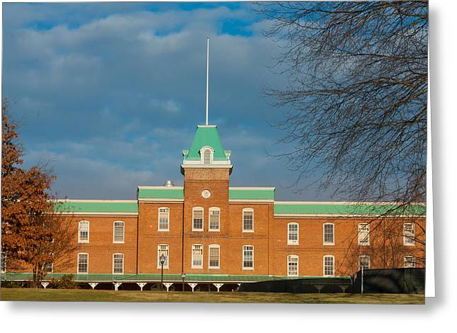 Recently Sold -  - Liberal Greeting Cards - Lane Hall at Virginia Tech Greeting Card by Melinda Fawver
