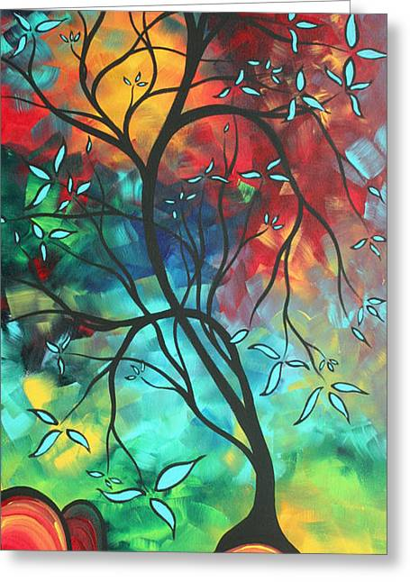 Recently Sold -  - Licensor Greeting Cards - Languishing in the Breeze Original ART MADART Greeting Card by Megan Duncanson