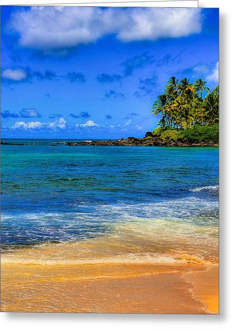 Laniakea Beach Greeting Cards - Laniakea Beach Greeting Card by Kelly Wade