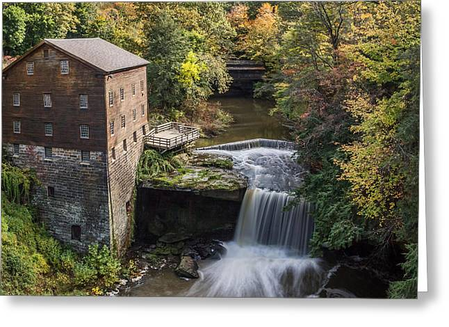 Lantermans Mill Greeting Card by Dale Kincaid