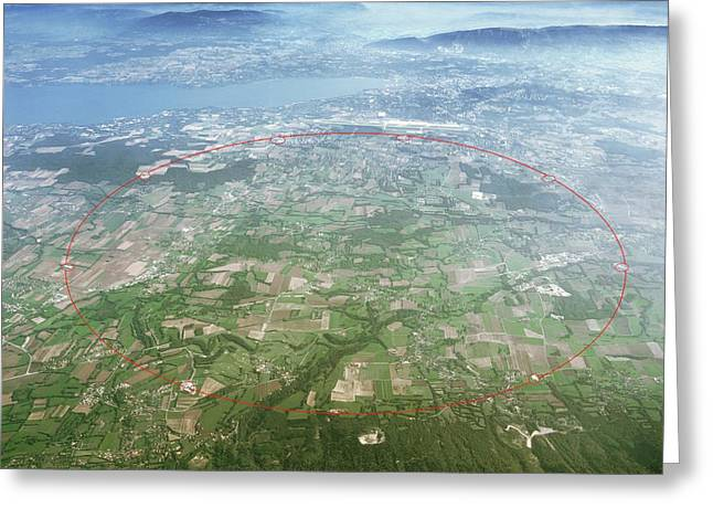 Large Hadron Collider Greeting Card by Cern