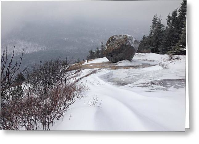 Large Stone Greeting Card by Michael French