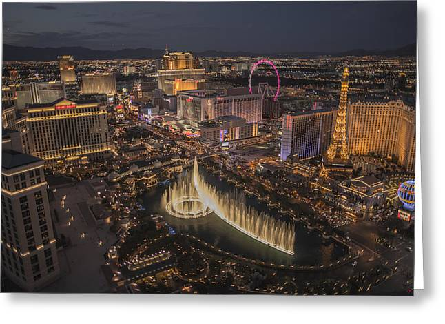 Amusements Greeting Cards - Las Vegas 2014 Greeting Card by Andreas Hohl