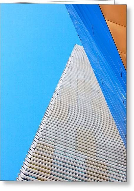 Las Vegas Art Greeting Cards - Las Vegas Architecture Greeting Card by Art Block Collections