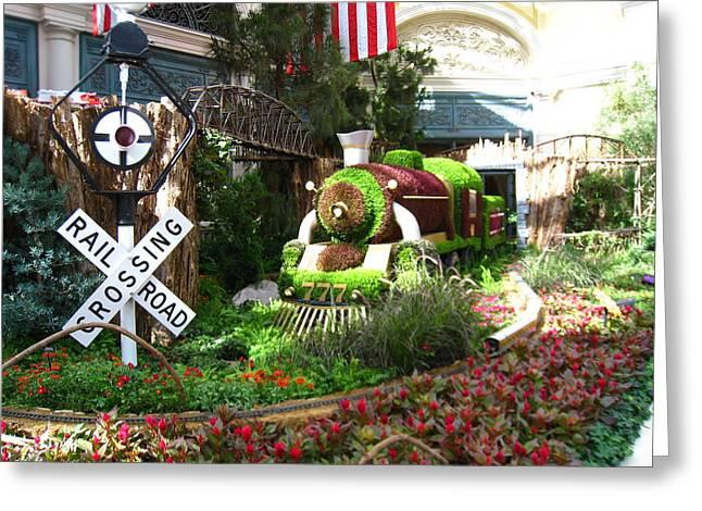 Las Vegas - Bellagio Casino - 12124 Greeting Card by DC Photographer
