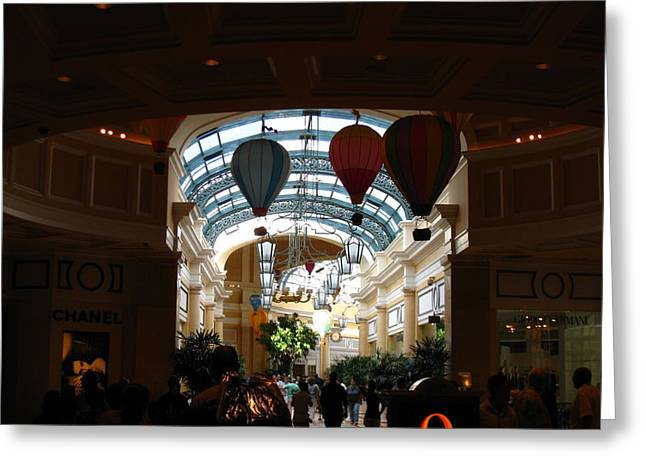 Ponds Greeting Cards - Las Vegas - Bellagio Casino - 12128 Greeting Card by DC Photographer