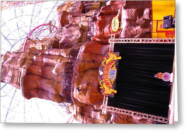 La Greeting Cards - Las Vegas - Circus Circus Casino - 12122 Greeting Card by DC Photographer