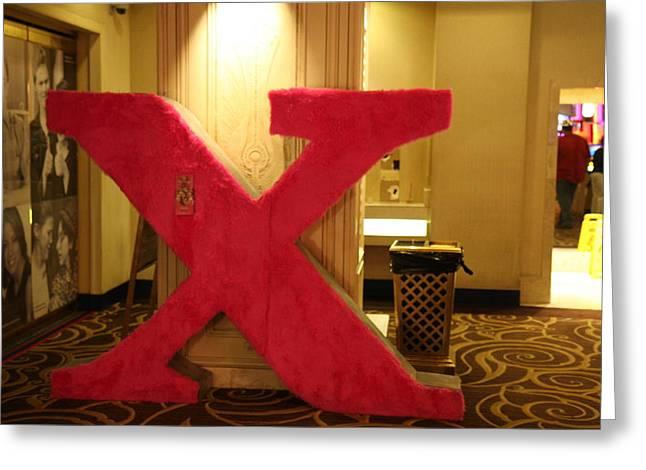 Flamingos Greeting Cards - Las Vegas - Flamingo Casino - 121210 Greeting Card by DC Photographer