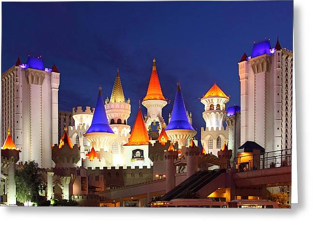 Viva Las Vegas Greeting Cards - Las Vegas For Kids Greeting Card by Viktor Savchenko