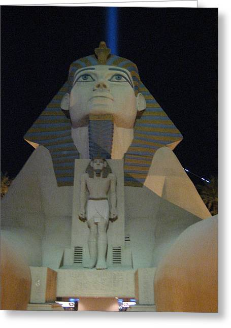 Luxor Greeting Cards - Las Vegas - Luxor Casino - 12121 Greeting Card by DC Photographer