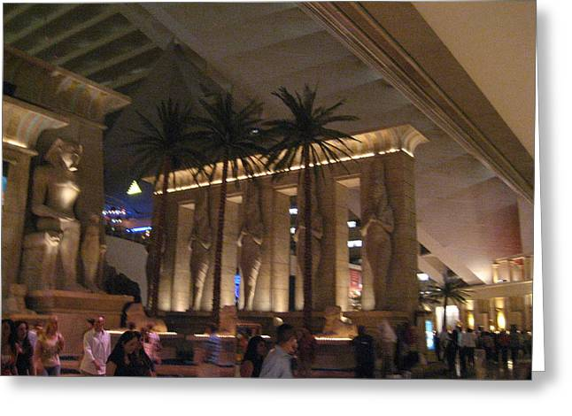 Luxor Greeting Cards - Las Vegas - Luxor Casino - 12124 Greeting Card by DC Photographer