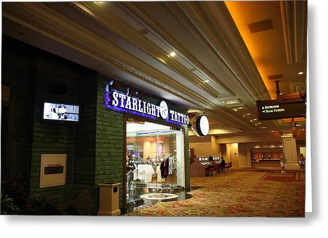 Bay Photographs Greeting Cards - Las Vegas - Mandalay Bay - 12121 Greeting Card by DC Photographer