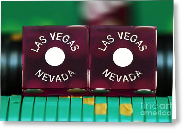 Las Vegas Artist Greeting Cards - Las Vegas Nevada Greeting Card by John Rizzuto