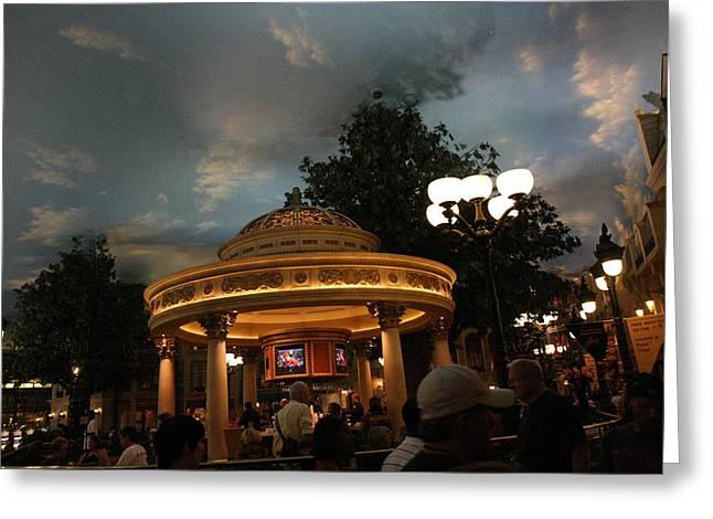 Las Vegas - Paris Casino - 121224 Greeting Card by DC Photographer