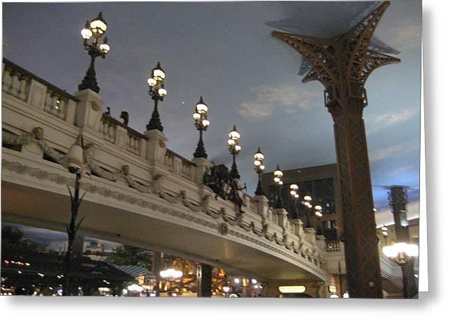 Las Vegas - Paris Casino - 12126 Greeting Card by DC Photographer