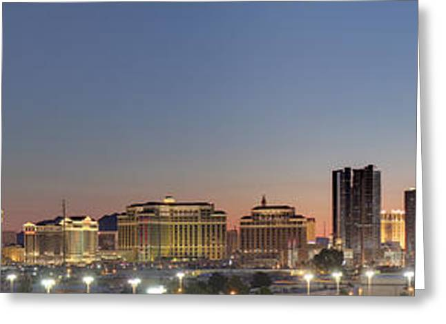 Las Vegas - The Srip - 01132 Greeting Card by DC Photographer