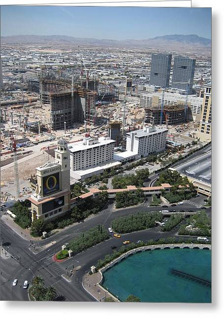 Las Vegas - The Srip - 12129 Greeting Card by DC Photographer