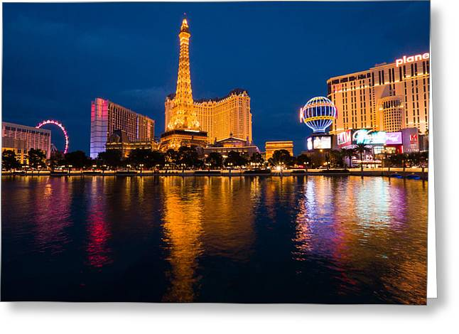Las Vagas Greeting Cards - Las Vegas Greeting Card by Vu Nguyen