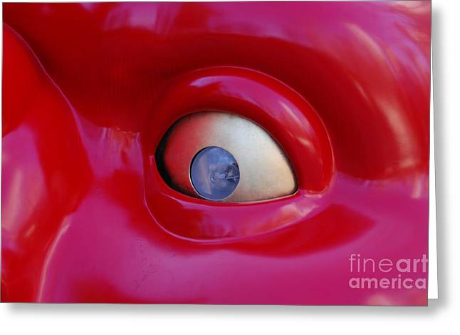 Opt Greeting Cards - Laser Focus by jammer Greeting Card by First Star Art