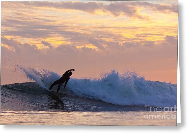 Surf Lifestyle Greeting Cards - Last Blast Greeting Card by Paul Topp