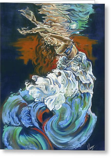 Passion Greeting Cards - Dive into your soul Greeting Card by Karina Llergo Salto