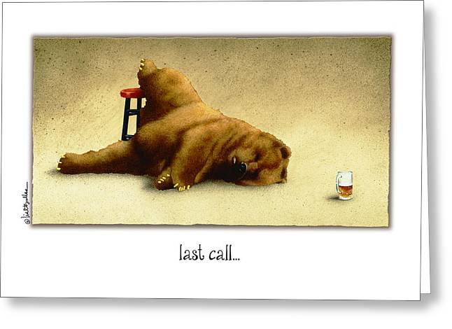 Last Call.. Greeting Card by Will Bullas