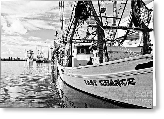 Mississippi Gulf Coast Greeting Cards - Last Chance Greeting Card by Scott Pellegrin
