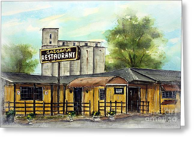 Franklin Tennessee Greeting Cards - Last Day at Dotsons Greeting Card by Tim Ross