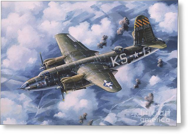 Airplane Greeting Cards - Last Flight of the SHIRLEY D Greeting Card by Randy Green