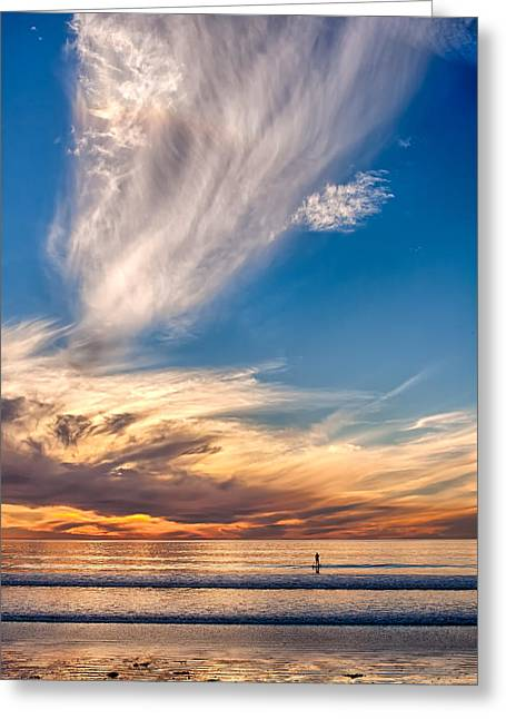 Carlsbad Greeting Cards - Last Licks Greeting Card by Peter Tellone