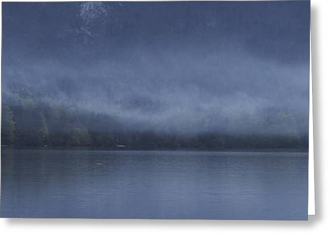 Bohinj Lake Greeting Cards - Last light at Bohinj Greeting Card by Graham Hawcroft pixsellpix