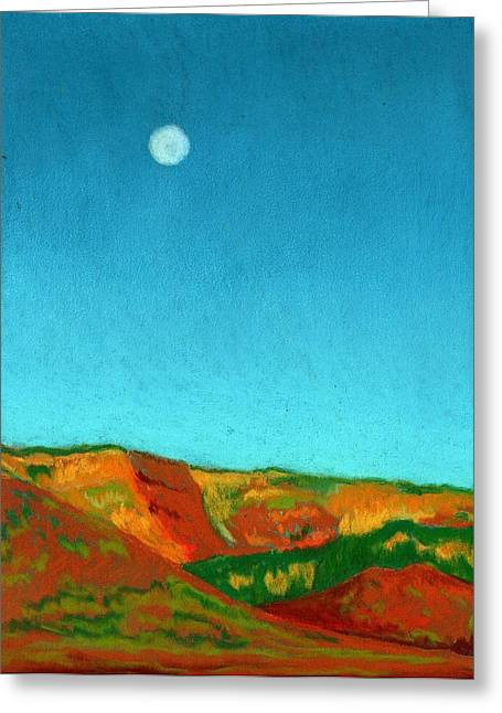Diane Cutter Greeting Cards - Last Light Greeting Card by Diane Cutter