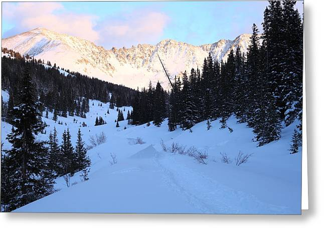 Summit County Colorado Greeting Cards - Last Light Greeting Card by Eric Glaser